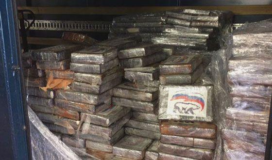 «Единая Россия» посмеялась над кокаином слоготипом партии